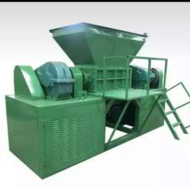 Shredder .aor  Recycling plant for all material