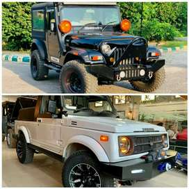 Modified Thar Jeeps Gypsy Modified Hunter Jeeps Willy's Jeeps AC Jeep
