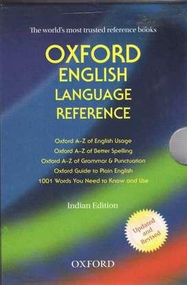 Oxford english language preference (set of 5 books)