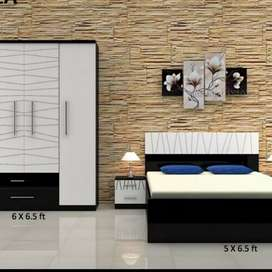 Luxury bedroom set from real furniture