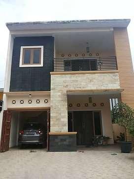 Rumah minimalis modern cantik di pinang baris medan sunggal