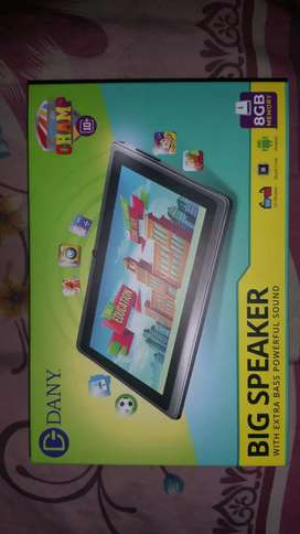 DANY CHAMP 10 PLUS BIG SPEARKER TABLETS FOR KIDS BRAND NEW FULL WARNTY