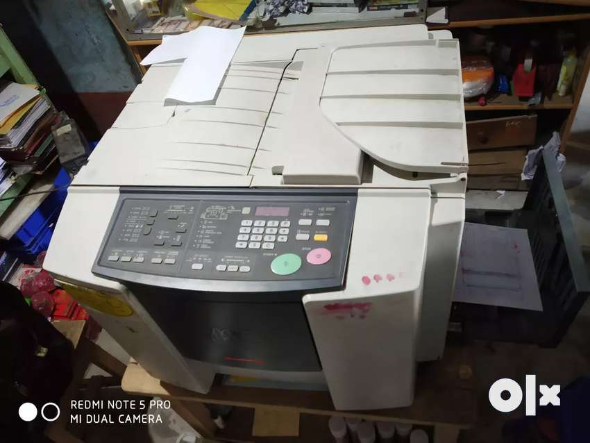 RISO cz 180 with blue and red drum, good running conditions 0