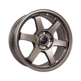 VELG MOBIL HSR-Tokyo-6068D-Ring-18x85-H5x1143-ET40-Semi-Matte-Bronze1