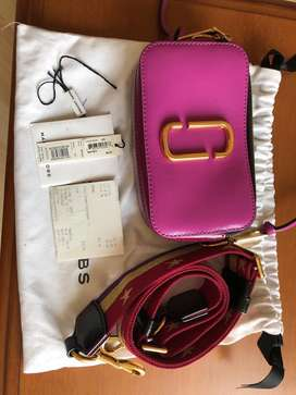 Marc Jacobs snapshot bag in lilac