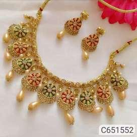 Glamorous Stones Necklace Sets