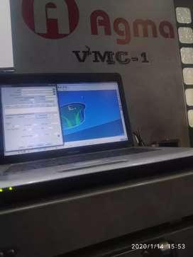 Jasa pembuatan program G-Code cnc Milling
