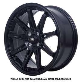 Bisa Kredit Velg + Ban Ring 17 HSR Buat Mobil Vios City Corolla R17