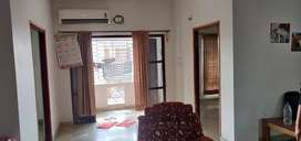 Semi-furnished 3BHK with AC nearby Axis mall New Town action area 1.
