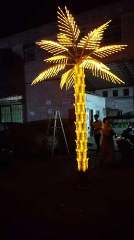 Lampu Pohon outdoor palm 3 meter
