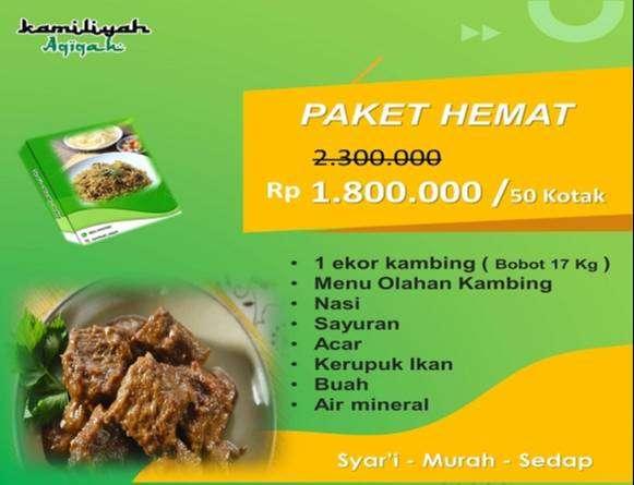Promo Paket aqiqah murah dan lengkap 0