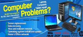 Desktop and Laptop Repair Dombivli (West & Est) Home pickup-delivery