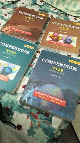 FIITJEE NTSE ( MAT + SAT) Compendium collection of 4
