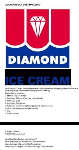 Lowongan Kerja di Depo Es Cream Diamond