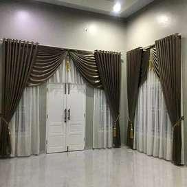 Tirai Gordyn gorden gordeng vitrase blinds wallpaper 0z2573