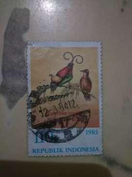 """Perangko Kuno dan Langka RI """"Lukisan Burung"""" 1983"""