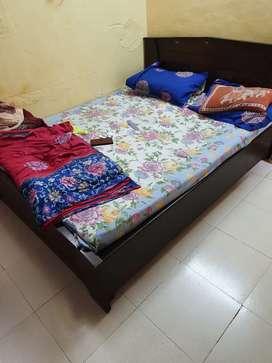 Teak wood bed for sale