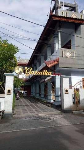 Dijual hotel melati di kawasan bisnis  Cakranegara