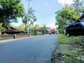 Tanah super strategis 206 meter disewakan di Salatiga