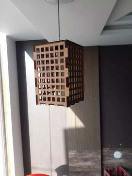 Wall light wood lamp