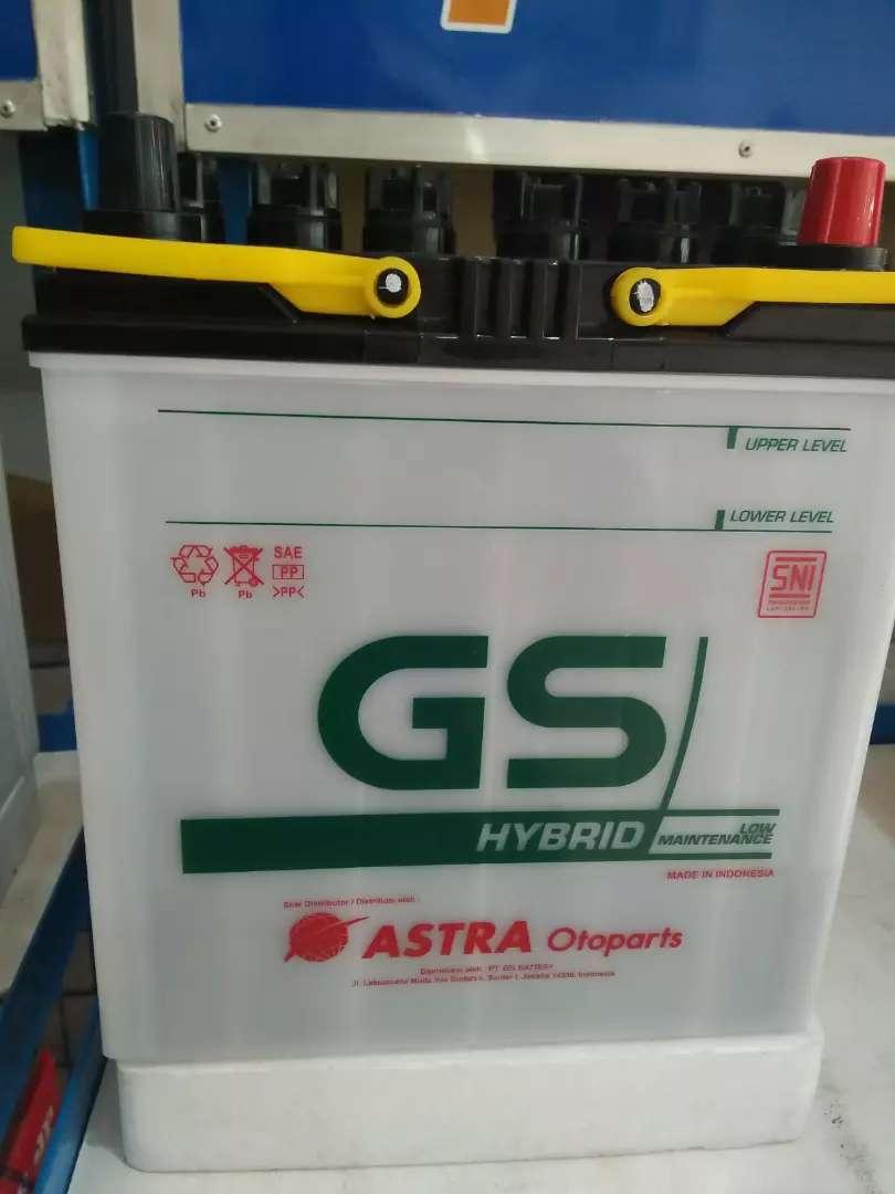 Honda Brio Pakai Aki GS Astra Hybrid NS 40ZL 35 ah Garansi 1 Bulan 0