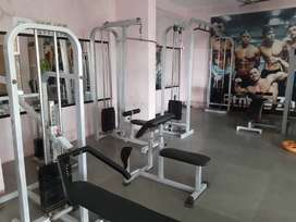 Full Gym setup. Weight training equipments
