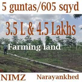 605 గజాలు  /5 గుంటలు /12 సెంట్లు open plots