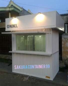 Container dagang, container usaha, booth makanan, booth bazzar, booth
