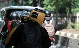 Uber bike taxi job and Uber parcel delivery job (free joining)