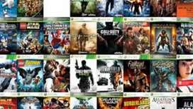 XBOX 360 GAMES AVAILABLE