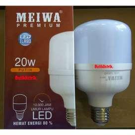 Lampu led kapsul 20w putih merk Meiwa