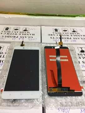 Lcd Touchscreen Xiaomi Redmi 4a Warna Hitam Dan putih