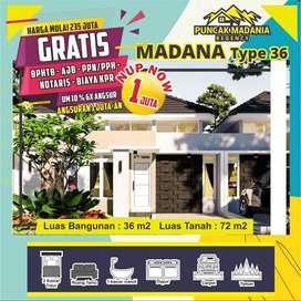 Puncak Madania Regency Rumah 200jutaan Gresik