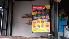Penjaga kedai makanan dan minuman