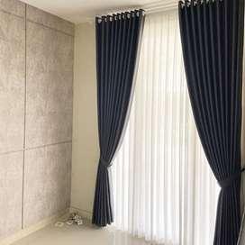 Terima Pesanan Gorden Wallpaper Rumah Kantor Apartemen Hordeng KordenT