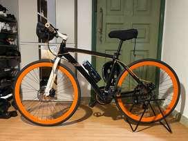 """Doppleganger D9 """"Midtown Rush"""" Japanese Hybrid bike Jual BU"""