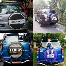 Cover/Sarung Ban Serep Daihatsu ROCKY/Rush/Terios grandtouring trooper