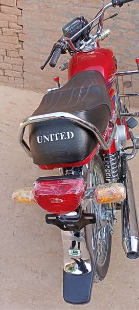 United Motercycle  (750 km used)