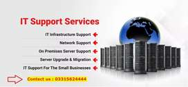 Providing IT Consultancy and Technical Support Services