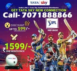 Dhamaka Offer - Tata sky DTH -Airtel Dish tv D2H Tatasky - All India