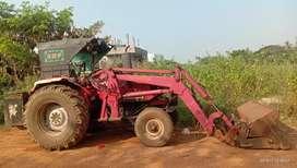 Mahendra arjun 605 bull ఒపెన్ బకిటు లొడింగు