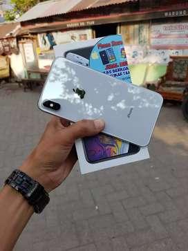 Iphone Xs Max 256gb Silver, Muluss 98% Bisa Tt