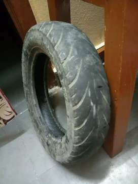 Activa 3g tube tire in good condition