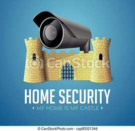 CCTV camera's setup in wholesale rate