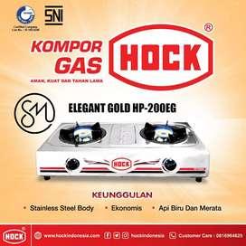 Kompor Gas Hock HP-200EG Elegant Gold Stainless