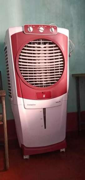 A less than 2 years old crompton Air cooler will be sold at Rs. 10K
