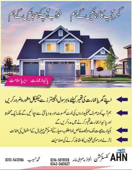 Construction & Renovation of Houses, buildings, and Plaza in Pakistan