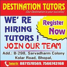 Tutor job vacancy