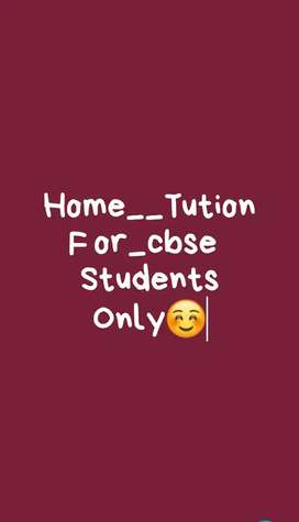 Home tution for class nur.to5