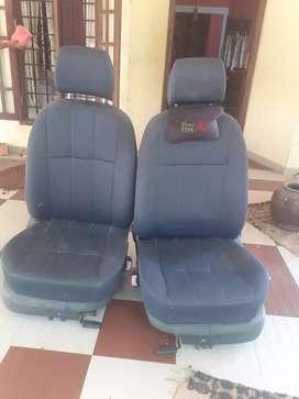 Scoda front seats